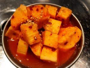 ハラペコ 山芋キムチ