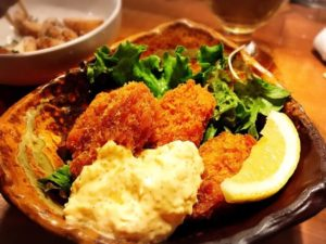 ビストロ魚丸 カキフライ